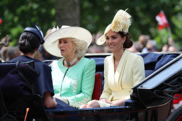 Кейт Миддлтон и Камилла Паркер-Боулз также посетили ежегодный парад