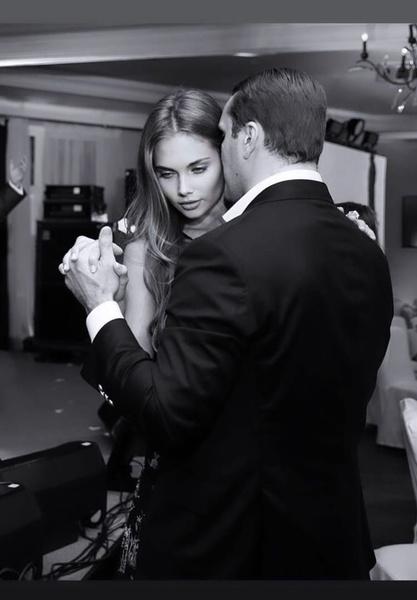 Лиза и ее супруг Антон Петров