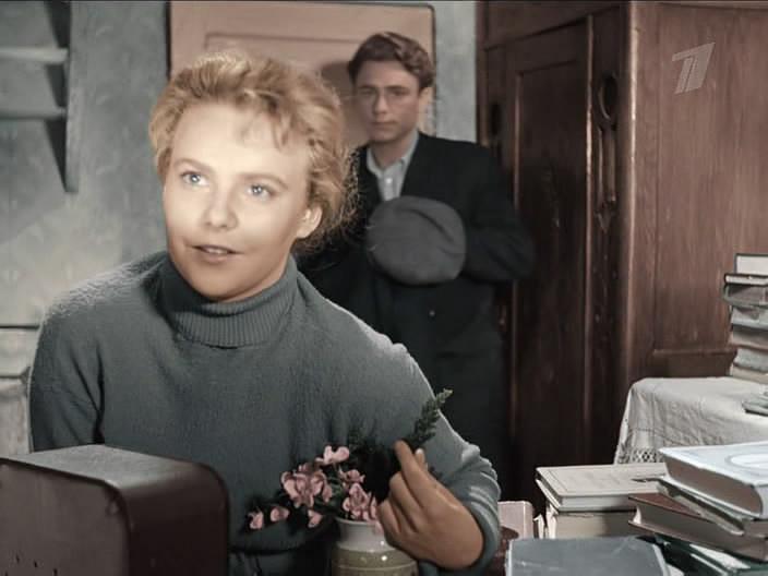 Режиссер Марлен Хуциев сразу понял, что Иванова идеально подходит на главную роль в его фильме