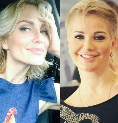 Катя Гордон и Мария Максакова
