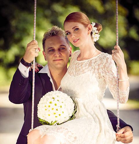 Красивую свадьбу Сашо и Лена сыграли в 2013 году