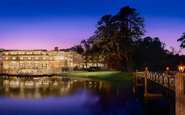 Отель, на территории которого пройдет церемония, считается одним из лучших в Южной Каролине