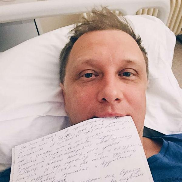 Сергей Горобченко в больнице