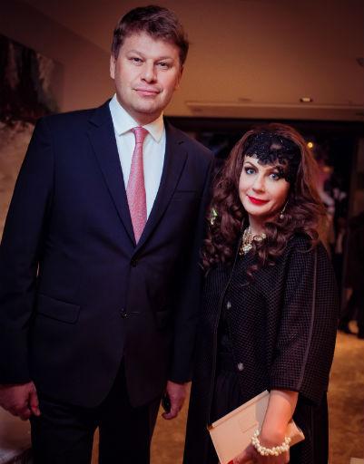 Дмитрий Губерниев и Карина Айриева