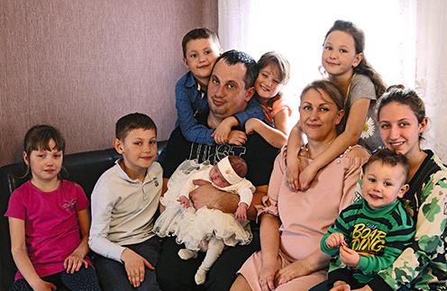 Семья Шабалиных