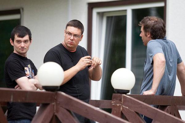 Победа Андрея Чуева (на фото в центре) в конкурсе «Человек года» стала неожиданностью для многих поклонников проекта «Дом-2»