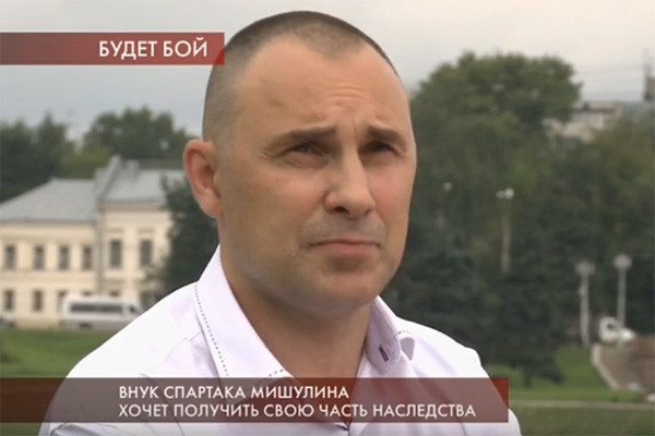 Эдуард Сорокин называет себя внуком Спартака Мишулина