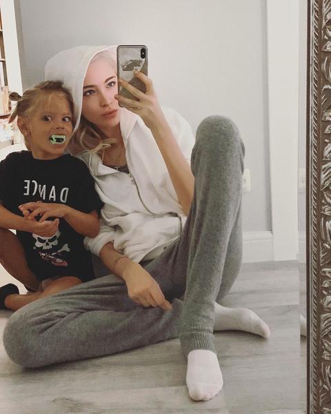 Алена с дочерью Алисой
