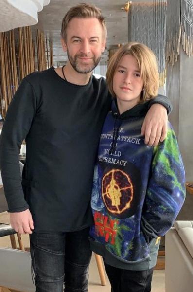 Черницын с сыном Артемом