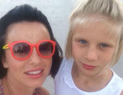 Юлия Волкова поздравила дочь с днем рождения