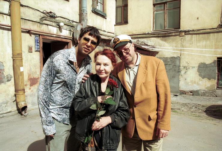 Звездная семья Ургант: Нина Николаевна, Андрей Львович и Иван