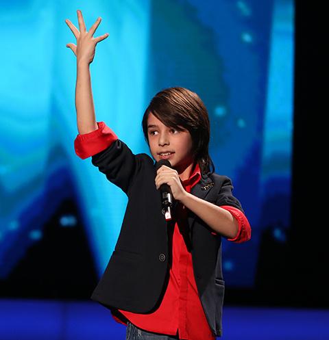 Давид участвовал в шоу «Голос. Дети»