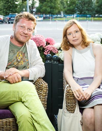 Эдуард Дорожкин и Ксения Наумова