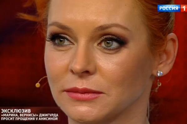 Марина Анисина была тронута словами Никиты Джигурды