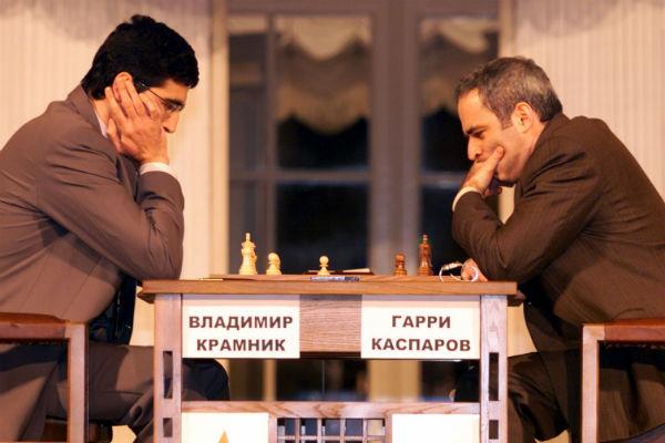 13-й чемпион мира по шахматам Гарри Каспаров
