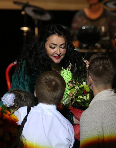Среди гостей можно было встретить как взрослых, так и детей