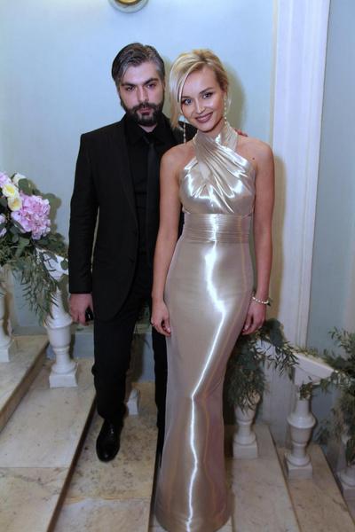 Полина Гагарина с бывшим мужем