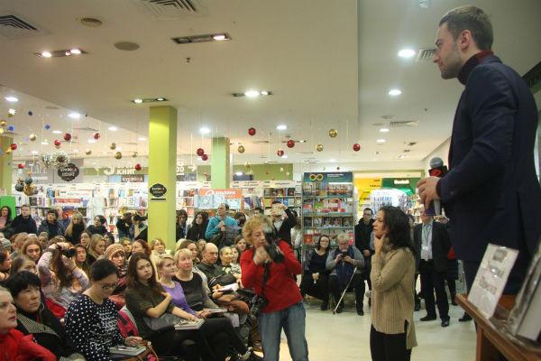 Послушать Дмитрия Шепелева пришли несколько десятков человек