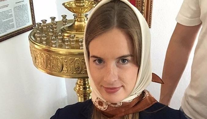 Мария Комиссарова крестила сына