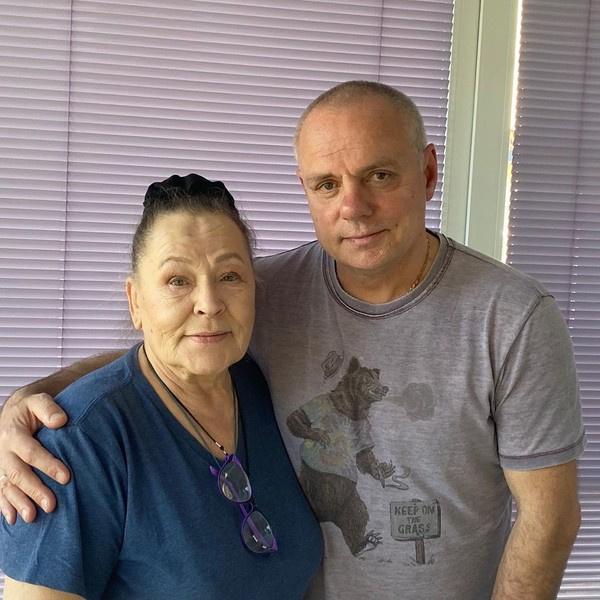 Раиса Рязанова и Александр Мохов