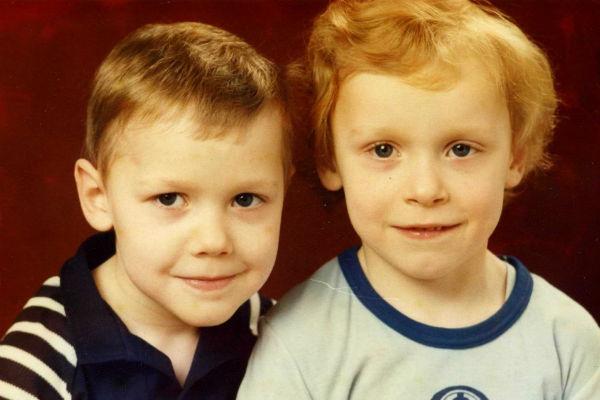 Андрей и Сергей в детстве