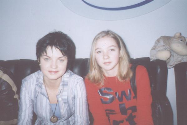 Евгения Рассказова с подругой