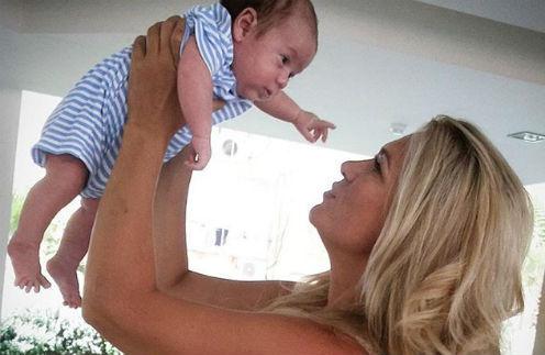 Виктория Макарская с сыном Ваней