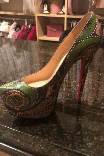 В повседневной жизни Бритни редко носит обувь на каблуке