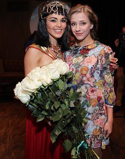 Сати Казанова и Лиза Арзамасова