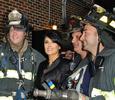 Сальма Хайек зажгла с пожарными