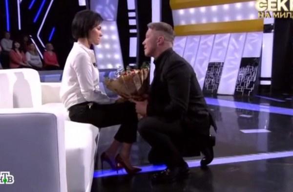 Алексей сделал предложение супруге в прямом эфире