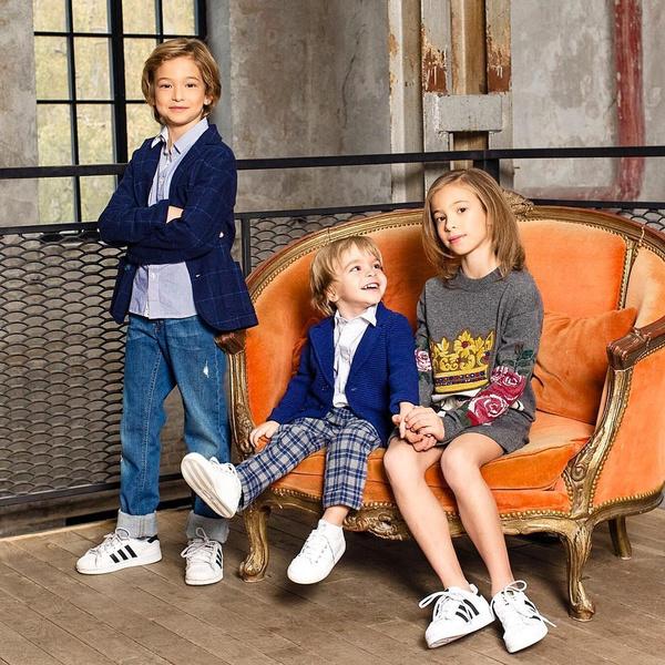 Дети певца: Ника, Энджел и Мирон