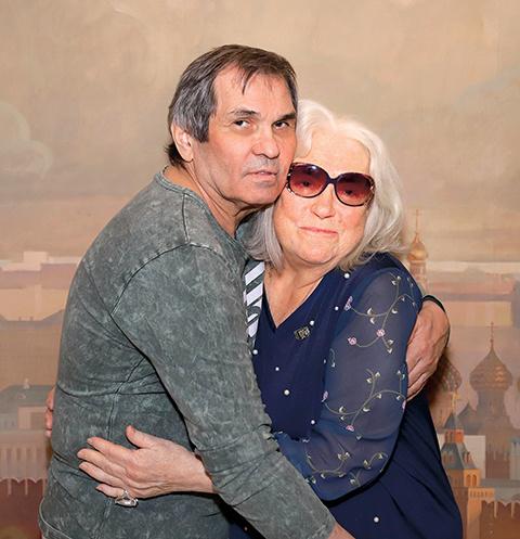 Бари Каримович и Лидия Николаевна поженились в ноябре прошлого года