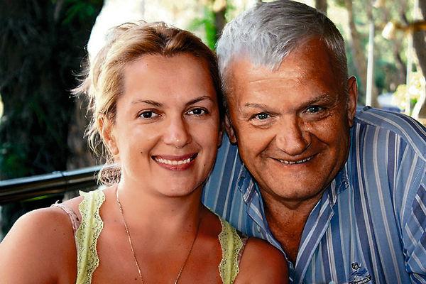 Мария Порошина с отцом