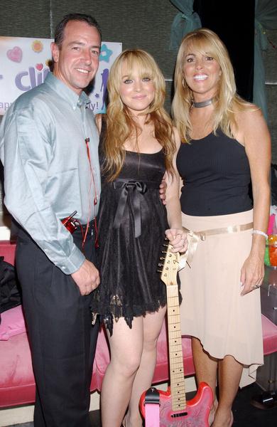 Родители Линдси развелись в 2007 году