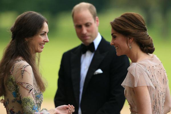 Кейт, Роуз и Уильям
