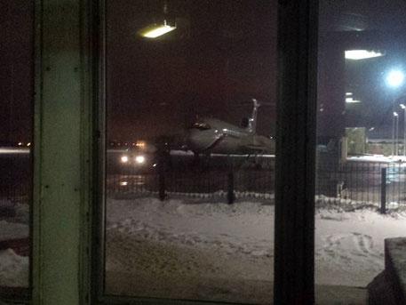 Последняя фотография рокового Ту-154