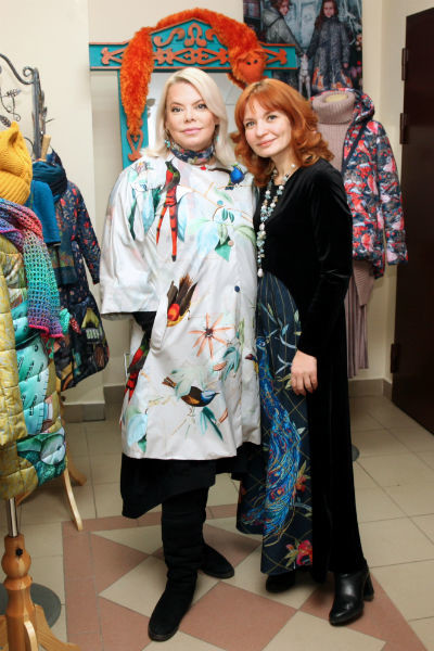 Яна Поплавская и Наталья Душегрея