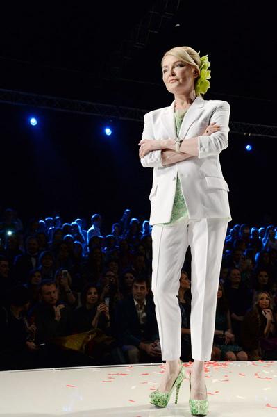 Лариса Вербицкая участвовала в модных показах