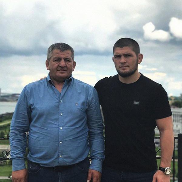 Отец с детства воспитывал Хабиба как будущего чемпиона