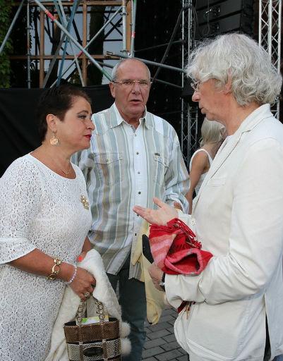 Супруги Виторган и Аркадий Укупник