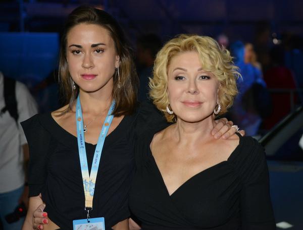 Любовь Успенская и ее дочь Татьяна Плаксина
