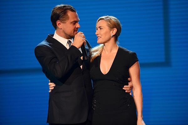 Кейт стеснялась сниматься в любовной сцене с Ди Каприо на глазах у мужа