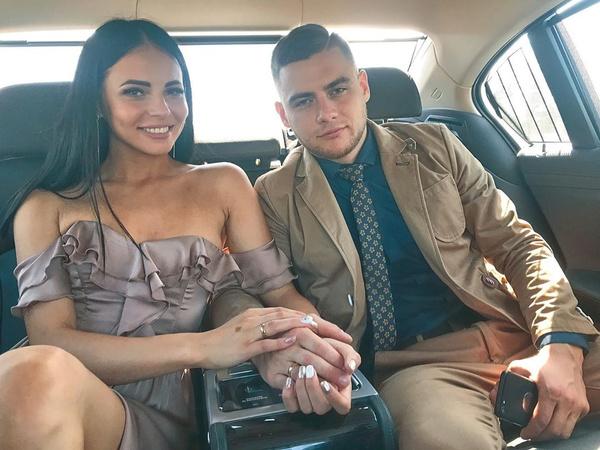 Ольга и Виктор поженились в июне 2019 года
