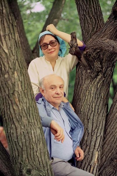 Ролан Быков и Елена Санаева