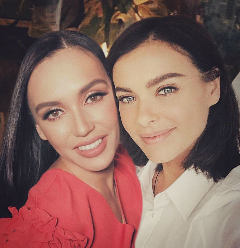 Ольга Серябкина и Лена Темникова