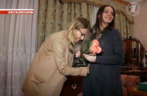 Ксения Собчак и Лиза Боярская
