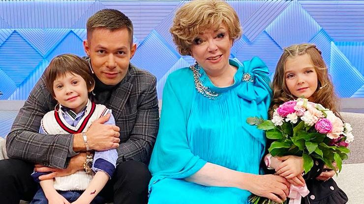 Эдита Станиславовна обожает правнука