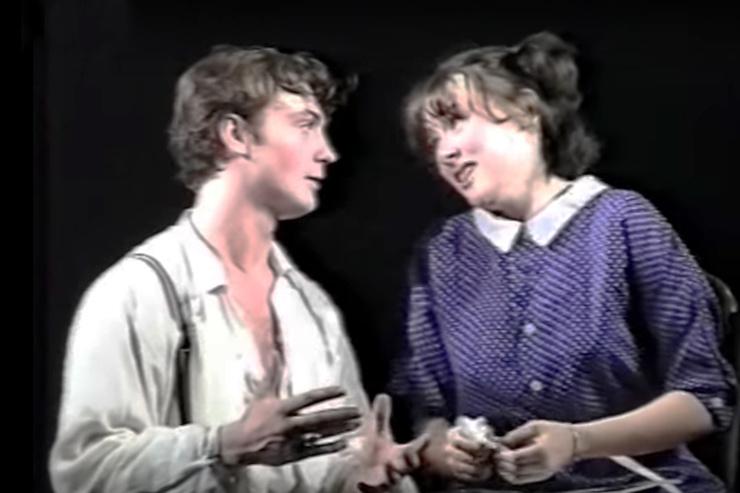Марк Горонок сыграл главного героя в дипломном спектакле «Вор в раю»