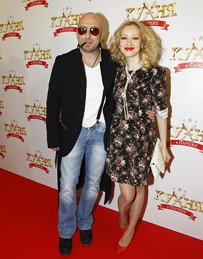 Дмитрий Нагиев с актрисой Ириной Темичевой